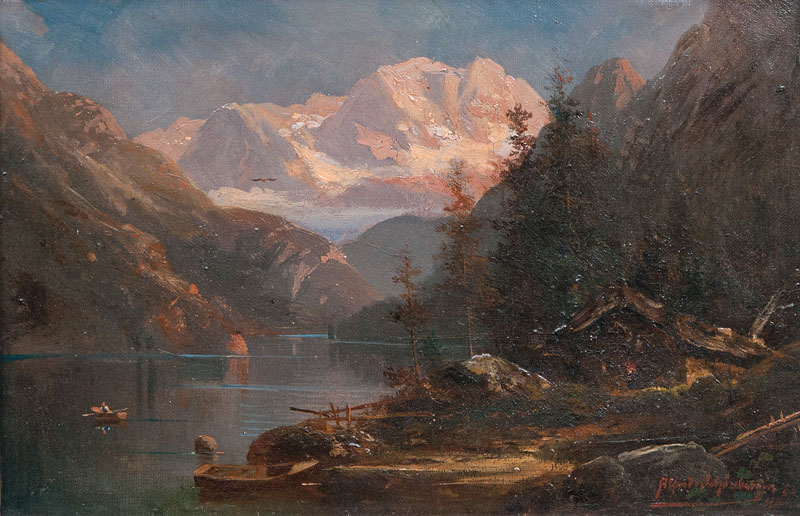 Companion Pieces: Alpine Landscapes