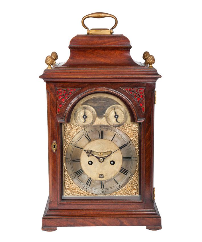 Georgian II Bracket Clock