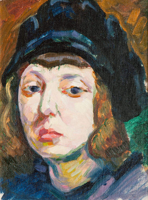Portrait of the Paintress Hertha Spielberg