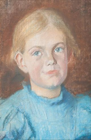 Portrait of a blond Girl