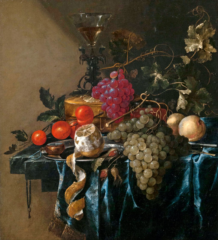 Still Life with Fruits and a Venetian Wine Glass