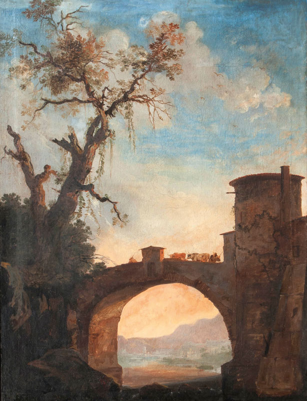 Southern Landscape with Bridge