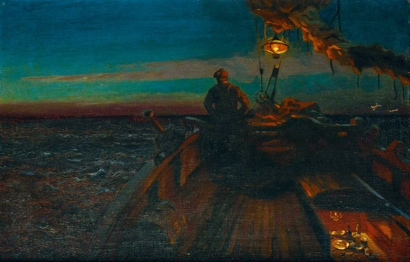 Summernight - Nightwatch on the Fishing Cutter