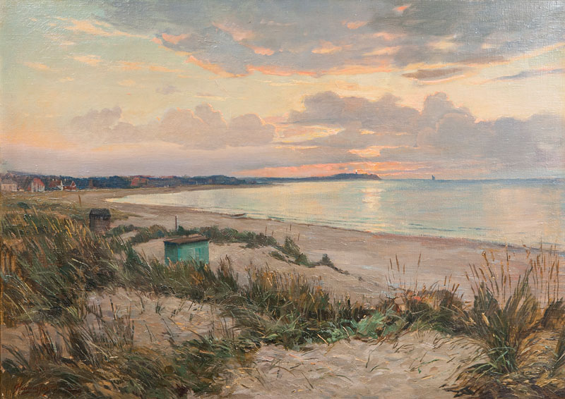 Evening by the Shore of the Baltic Sea