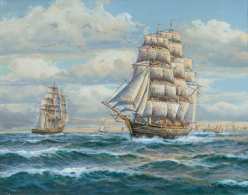 Three-masted Barque
