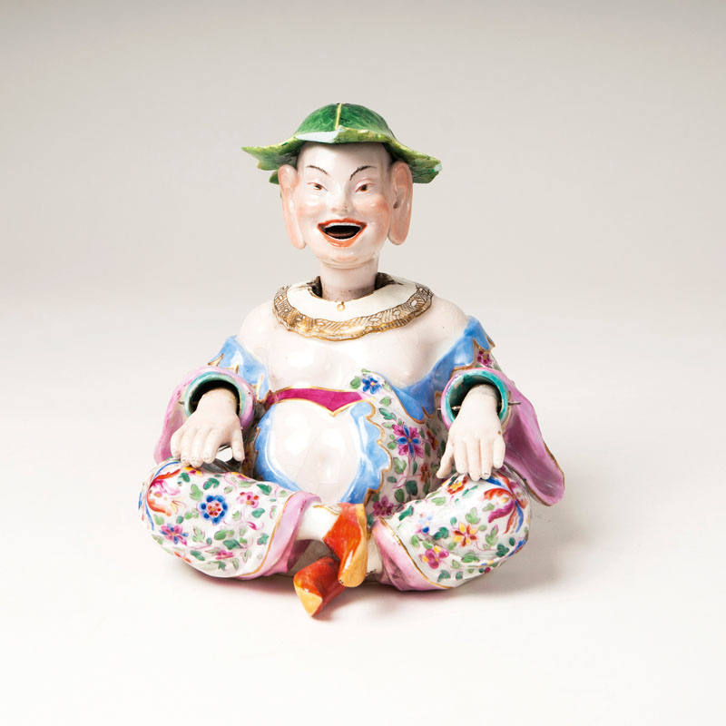 A wobling pagoda in the style of Meissen