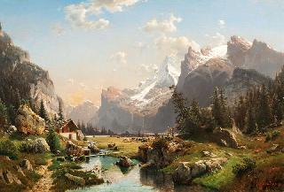 Gastern Valley in the Bernese Oberland