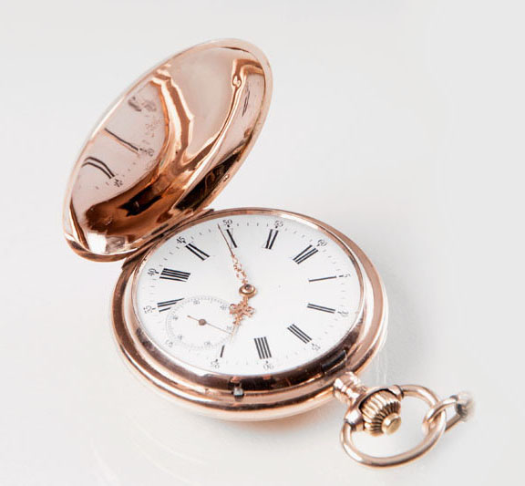 A Savonette pocket watch by IWC