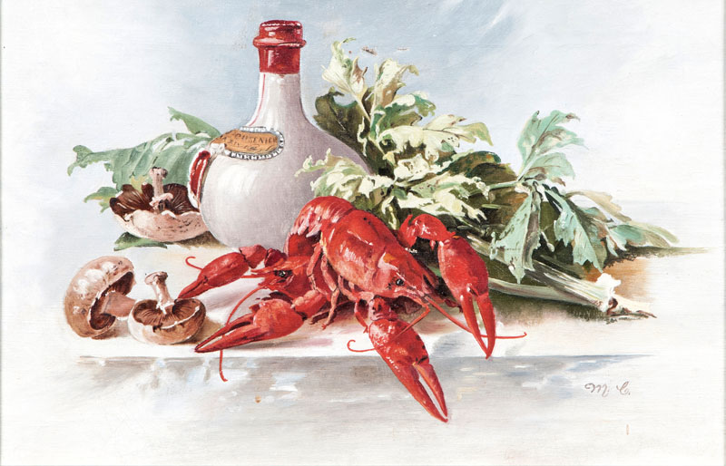 Still Life with Crayfishes