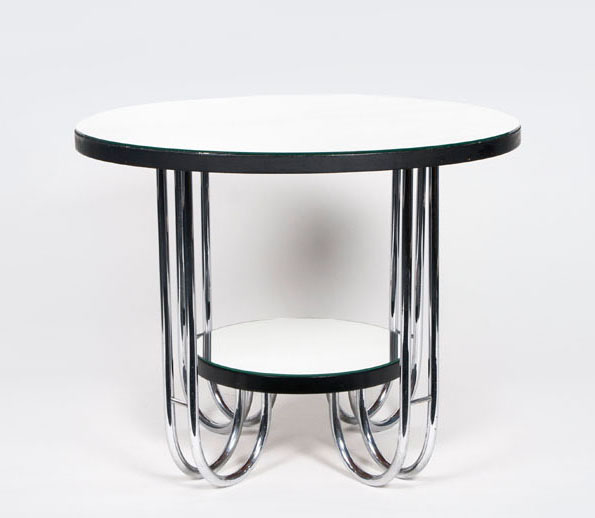 An Art Déco occasional table