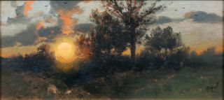 Landscape with Sunset