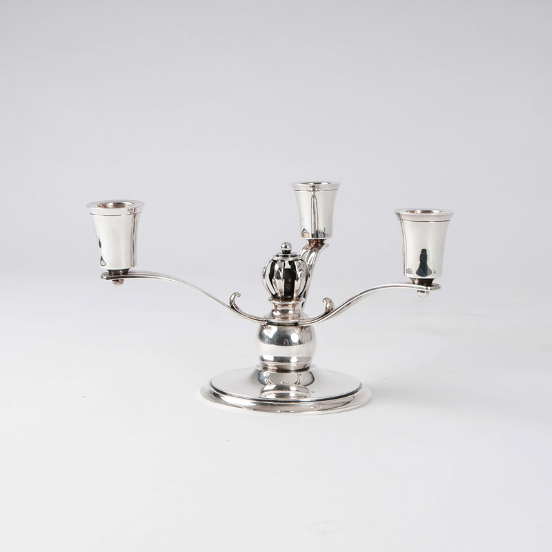 An Art Deco candelabra