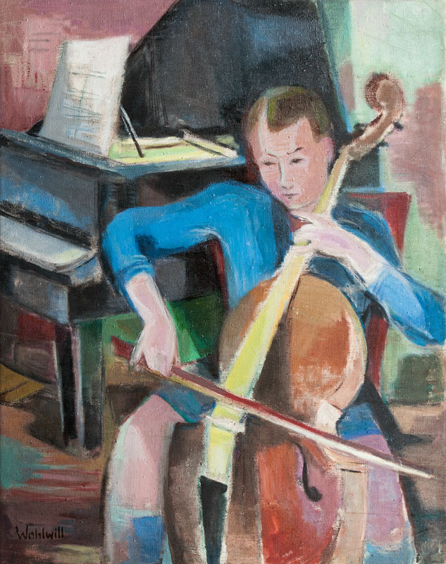 Boy with Cello