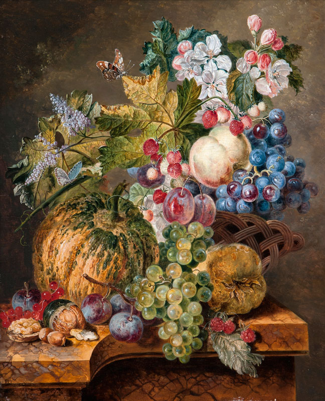 Still Life with Fruits of Autumn