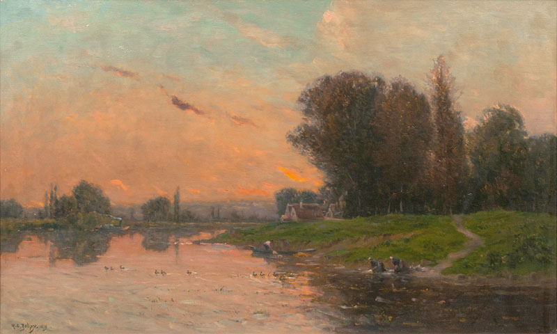 Evening by the Oise