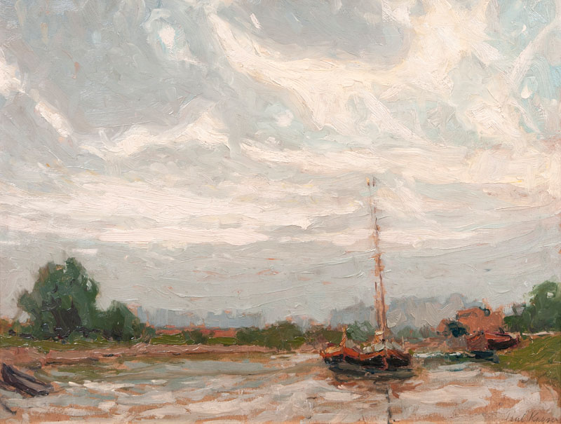 Boats on a River