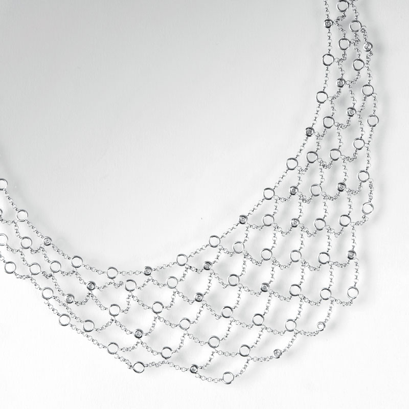 Modernes Brillant-Collier