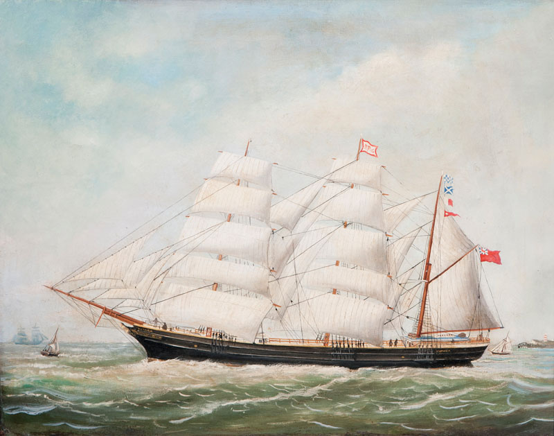 Ship Portrait of the Victoria