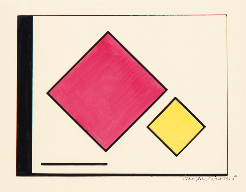 Composition with two Squares