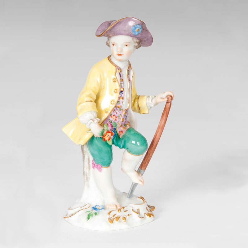 A figure 'Gardener Child with Spade'