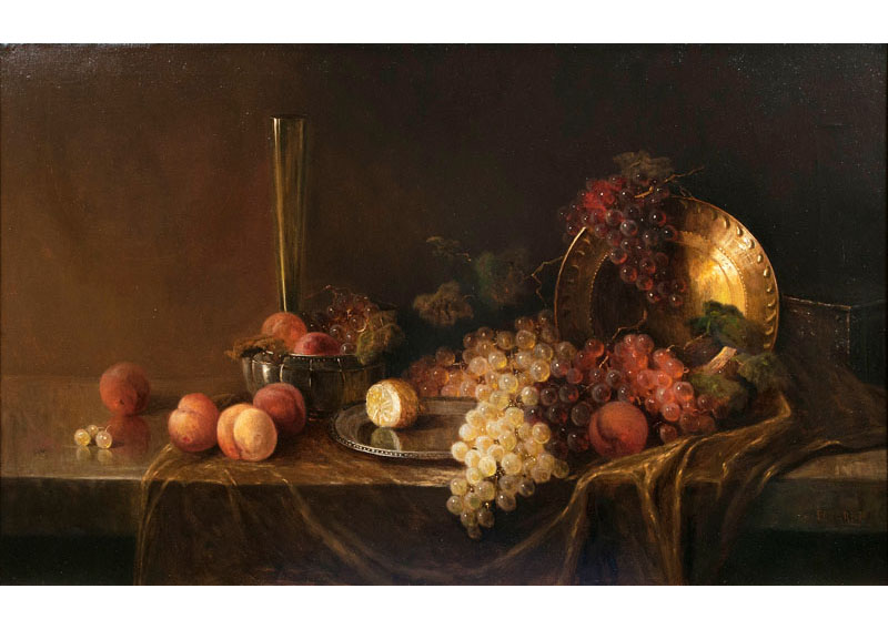 Table Still Life with Fruits