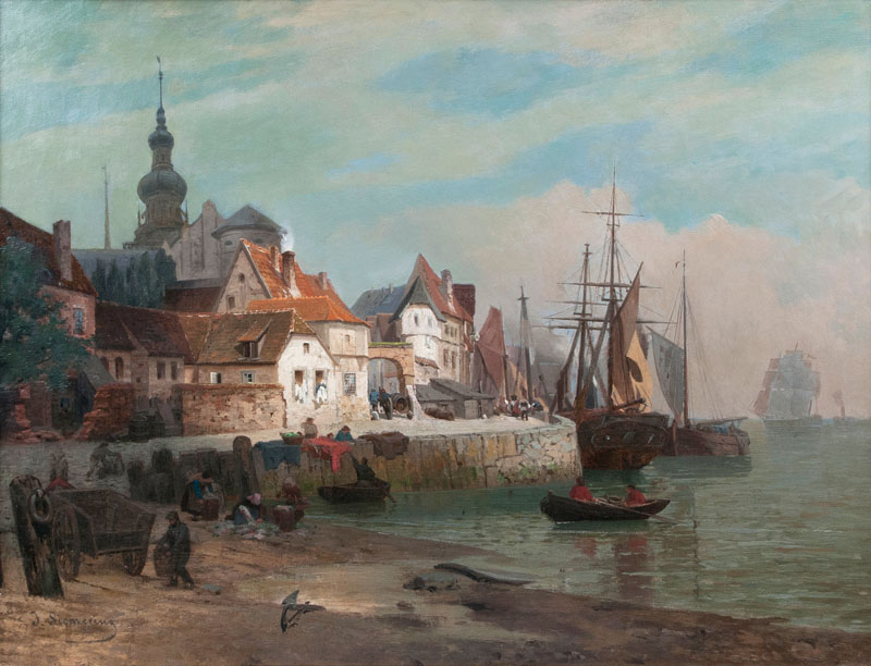 Town at the Seaside
