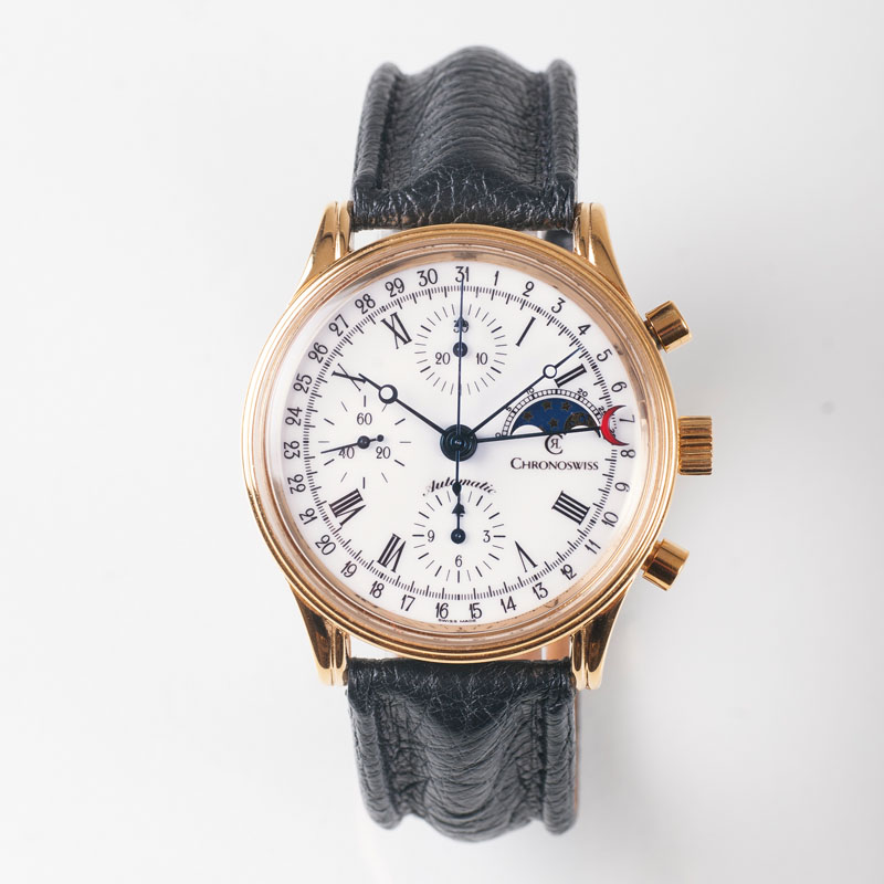 A Gentlemen's wristwacht Chronograph by Chronoswiss