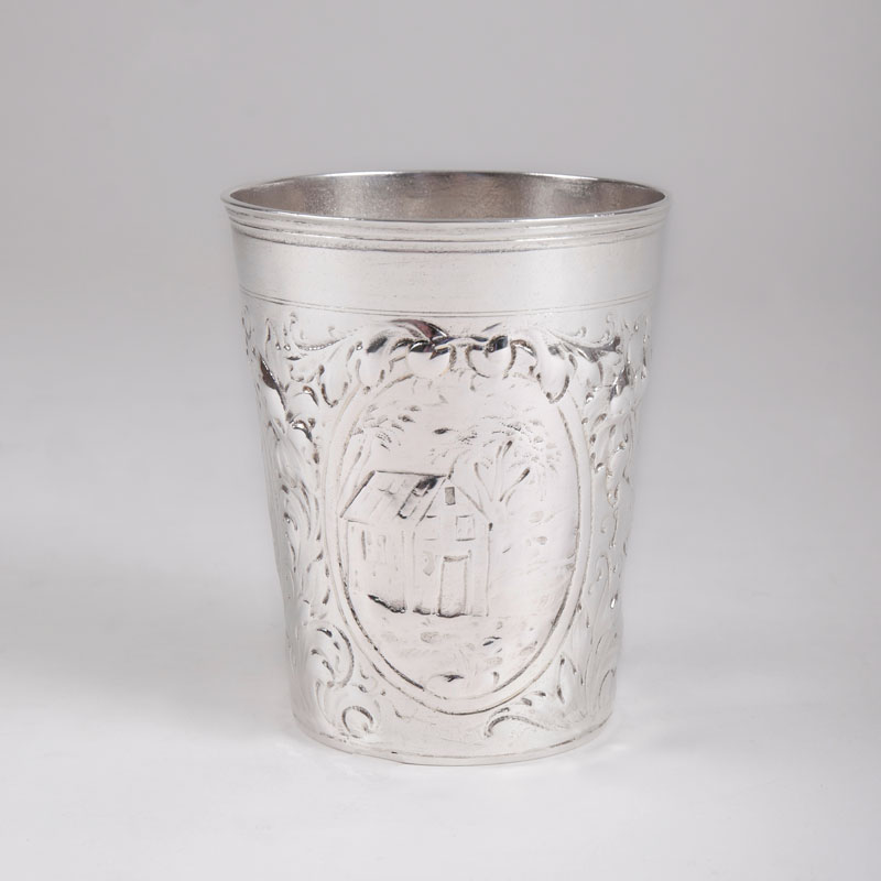 A baroque beaker from Leipzig