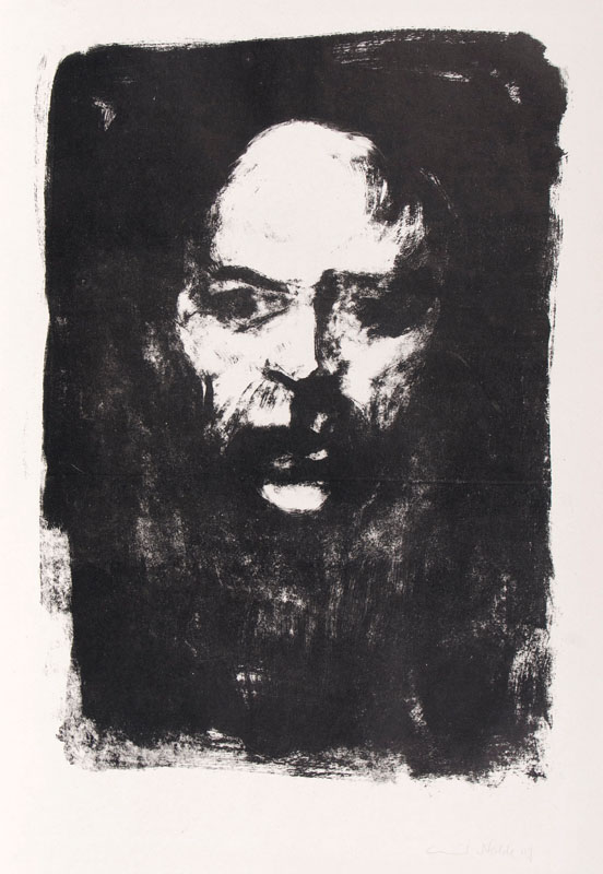 Head of a Man (Selfportrait)