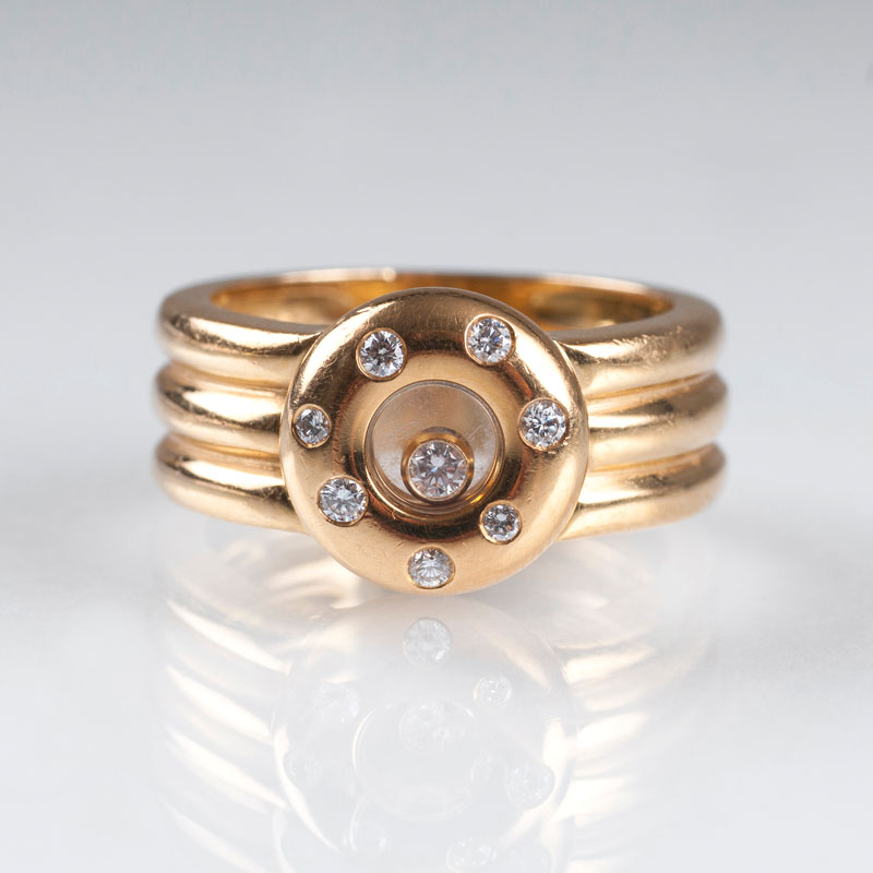 Gold-Bandring 'Happy Diamonds'