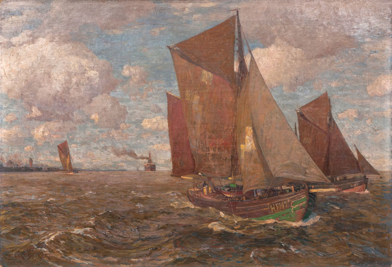 Fishing Boats on the Elbe