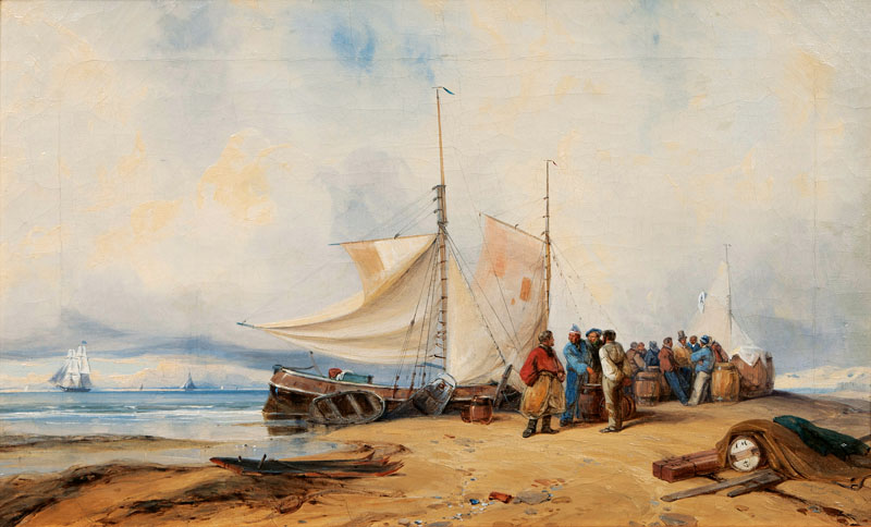 Companion Pieces: Fisher Folk on the Shore