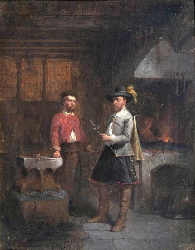 Companion Pieces: In the Workshop of the Bladesmith