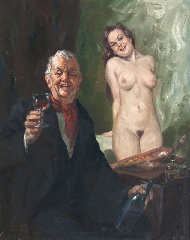 Painter with his Model