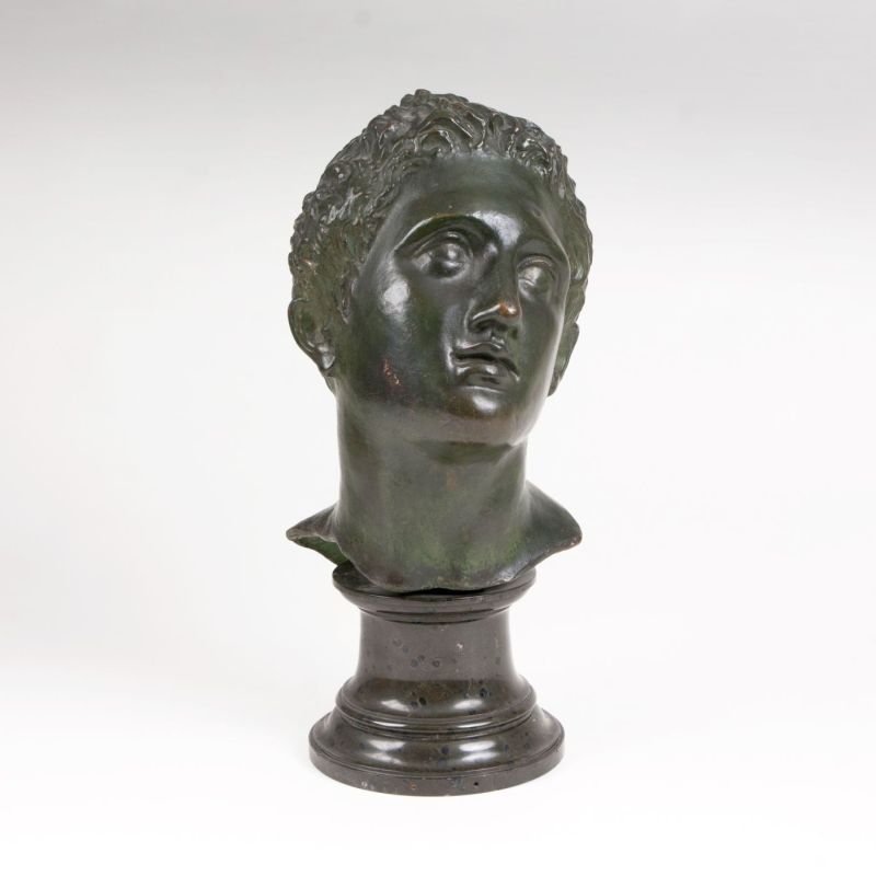 Bronze bust 'Alexander the Great as a young man'