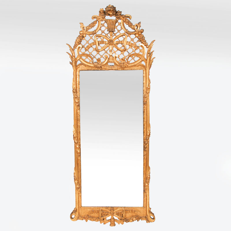 A large and representative Louis-Seize mirror