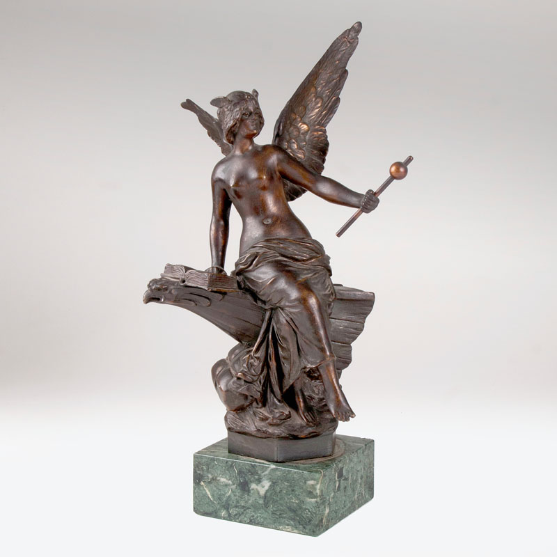 A bronze sculpture 'Minerva'