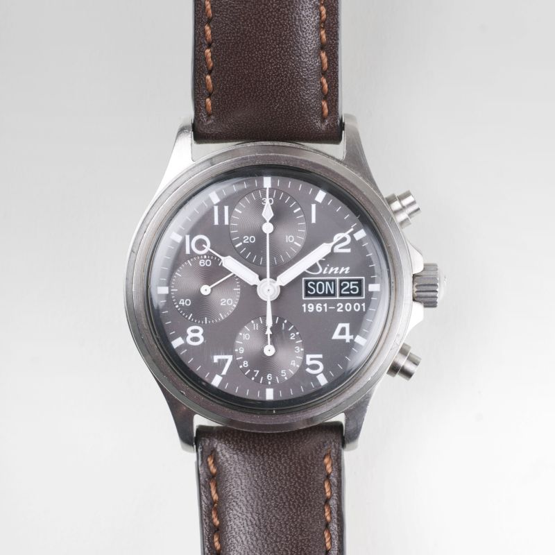 A gentlemen's watch 'Chronograph - model 356' of the anniversary edition