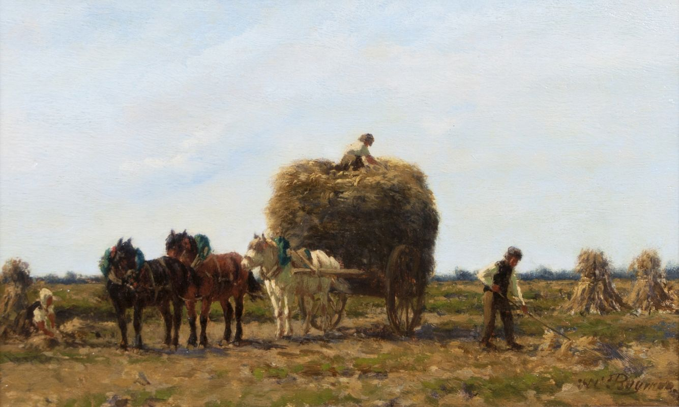 The Straw Cart