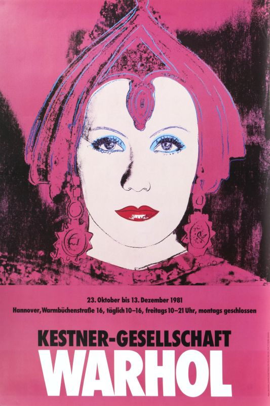 Two Posters: Andy Warhol and Kunst &Comic
