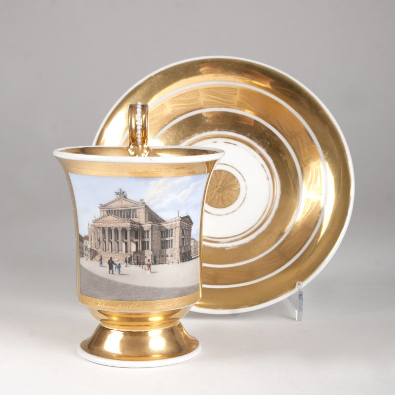 A Berlin cup with delicate view to the Berlin Schauspielhaus