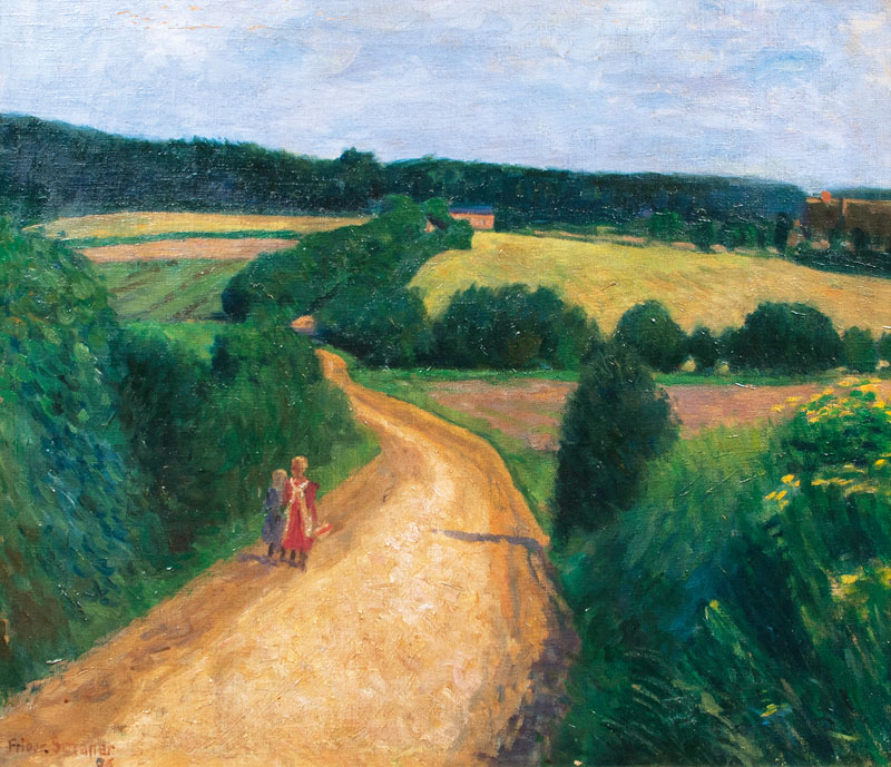 Way through the Fields
