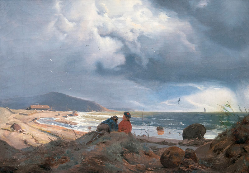 Fishermen on the Shore