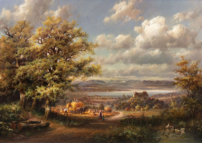 Harvest at Lake Starnberg