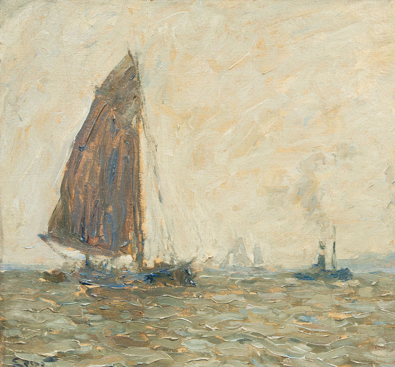 Sailing Boats and Tug Boat