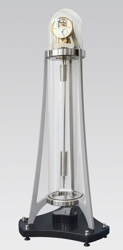 An extraordinary precious clock 'Columna Temporis'