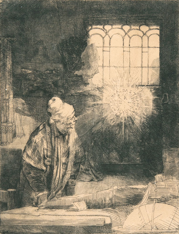 A Scholar in his Study - Faust