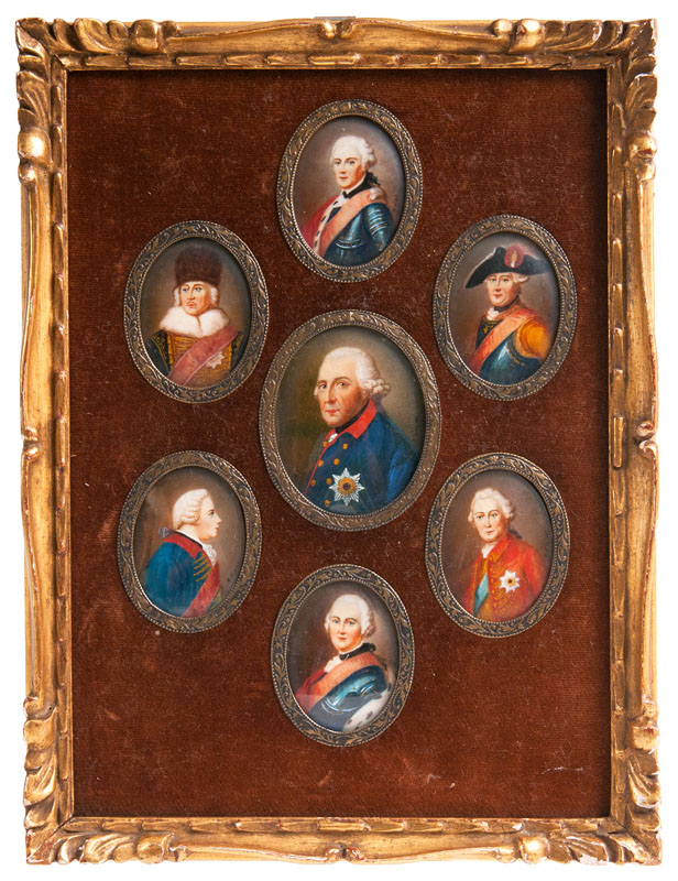 Frederick the Great and his Generals