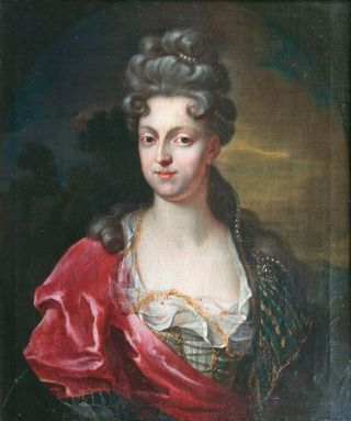 Portrait of a Lady, traditionally identified as Anna Maria de Medici