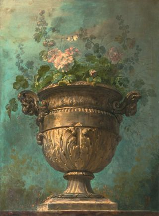 Krater with Flowers